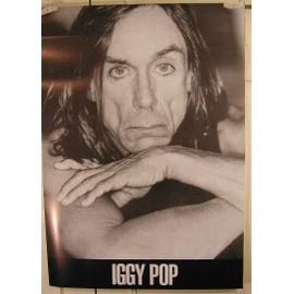 Iggy Pop - AFFICHE MUSIQUE / CONCERT / POSTER