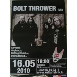 Bolt Thrower - AFFICHE MUSIQUE / CONCERT / POSTER