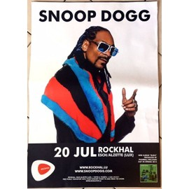 Snoop Dogg - AFFICHE MUSIQUE / CONCERT / POSTER
