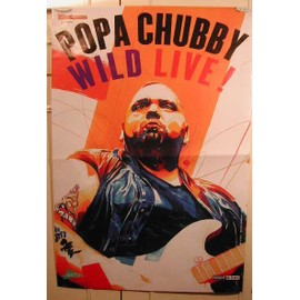 Popa Chubby - AFFICHE MUSIQUE / CONCERT / POSTER