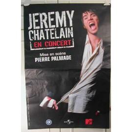Chatelain Jeremy - 2004 - AFFICHE MUSIQUE / CONCERT / POSTER