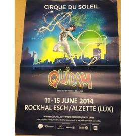 Cirque Du Soleil - AFFICHE MUSIQUE / CONCERT / POSTER