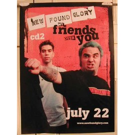 New Found Glory - AFFICHE MUSIQUE / CONCERT / POSTER