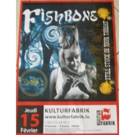 FISHBONE - AFFICHE MUSIQUE / CONCERT / POSTER