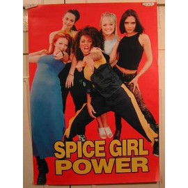 Spice Girls - AFFICHE MUSIQUE / CONCERT / POSTER