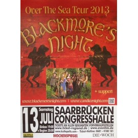 Blackmore's Night - Ritchie Blackmore - AFFICHE MUSIQUE / CONCERT / POSTER