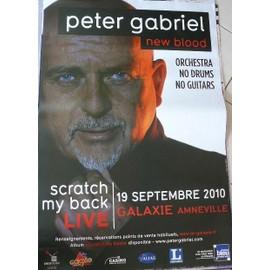 Peter GABRIEL - AFFICHE MUSIQUE / CONCERT / POSTER