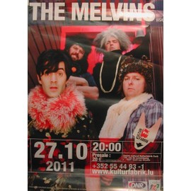 The Melvins - 2011 - AFFICHE MUSIQUE / CONCERT / POSTER