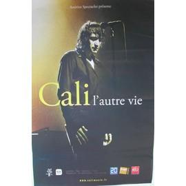 CALI - L'Autre Vie - AFFICHE MUSIQUE / CONCERT / POSTER