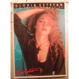 Estefan Gloria - AFFICHE MUSIQUE / CONCERT / POSTER