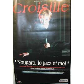 CROISILLE Nicole - AFFICHE MUSIQUE / CONCERT / POSTER