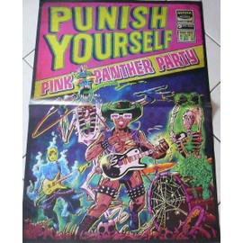 Punish Yourself - AFFICHE MUSIQUE / CONCERT / POSTER