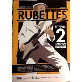 The Rubettes - AFFICHE MUSIQUE / CONCERT / POSTER