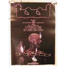 Tool - May 14 2001 - AFFICHE MUSIQUE / CONCERT / POSTER