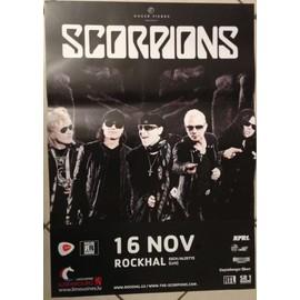 Scorpions - AFFICHE MUSIQUE / CONCERT / POSTER