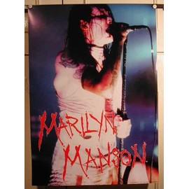 Manson Marilyn - AFFICHE MUSIQUE / CONCERT / POSTER