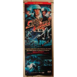 Starship Troopers 2 - PLIEE - AFFICHE MUSIQUE / CONCERT / POSTER