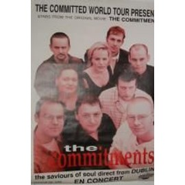 Commitments The - AFFICHE MUSIQUE / CONCERT / POSTER