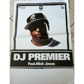 DJ Premier - AFFICHE MUSIQUE / CONCERT / POSTER