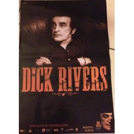 Dick Rivers - AFFICHE MUSIQUE / CONCERT / POSTER