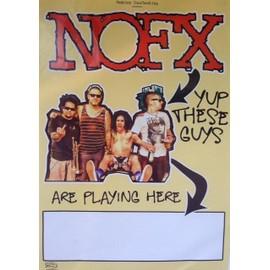 Nofx - AFFICHE MUSIQUE / CONCERT / POSTER