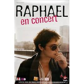 RAPHAEL - 2008 - AFFICHE MUSIQUE / CONCERT / POSTER