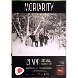Moriarty - Epitaph - AFFICHE MUSIQUE / CONCERT / POSTER