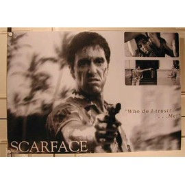 Scarface - Who Do I Trust? - AFFICHE MUSIQUE / CONCERT / POSTER