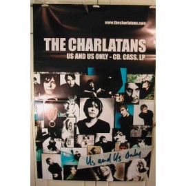 Charlatans The - Us Ans Us Only - AFFICHE MUSIQUE / CONCERT / POSTER