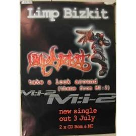 Limp Bizkit - AFFICHE MUSIQUE / CONCERT / POSTER