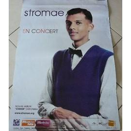 Stromae - AFFICHE MUSIQUE / CONCERT / POSTER