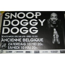 Snoop Doggy Dogg - AFFICHE MUSIQUE / CONCERT / POSTER