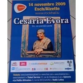 Cesaria Evora - AFFICHE MUSIQUE / CONCERT / POSTER