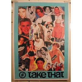 Take That - AFFICHE MUSIQUE / CONCERT / POSTER
