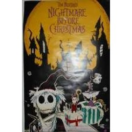 Nightmare Before Christmas - AFFICHE MUSIQUE / CONCERT / POSTER