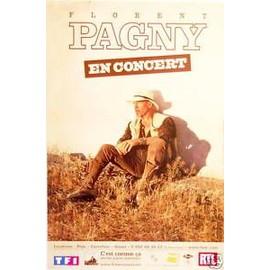 Florent PAGNY - AFFICHE MUSIQUE / CONCERT / POSTER