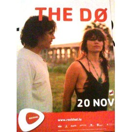 The Do - AFFICHE MUSIQUE / CONCERT / POSTER