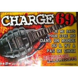 Charge 69 - AFFICHE MUSIQUE / CONCERT / POSTER