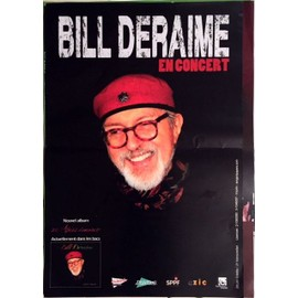 Bill Deraime - AFFICHE MUSIQUE / CONCERT / POSTER