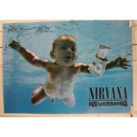Nirvana - AFFICHE MUSIQUE / CONCERT / POSTER