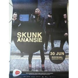 Skunk Anansie - AFFICHE MUSIQUE / CONCERT / POSTER