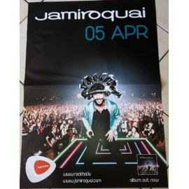 Jamiroquai - AFFICHE MUSIQUE / CONCERT / POSTER