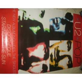 U2 - POP - AFFICHE MUSIQUE / CONCERT / POSTER