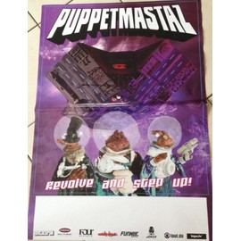 Puppetmastaz - AFFICHE MUSIQUE / CONCERT / POSTER