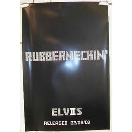 Presley Elvis - Rubberneckin - AFFICHE MUSIQUE / CONCERT / POSTER
