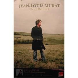 Jean-Louis MURAT - Grand Lièvre - AFFICHE MUSIQUE / CONCERT / POSTER