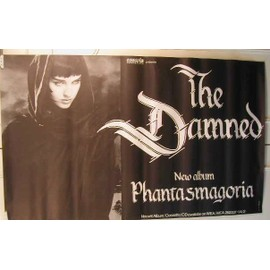 Damned The - Phantasmagoria - AFFICHE MUSIQUE / CONCERT / POSTER
