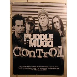 Puddle Of Mudd - AFFICHE MUSIQUE / CONCERT / POSTER