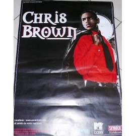 Chris BROWN - AFFICHE MUSIQUE / CONCERT / POSTER