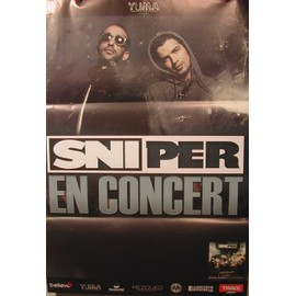 Sniper - 2011 - AFFICHE MUSIQUE / CONCERT / POSTER